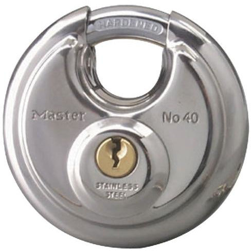 Padlock w/3/8in Shielded Shackle Keyed Alike