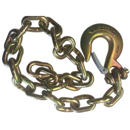 Gold Trailer Safety Chain - 3/8 x 39