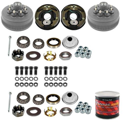 8000 lb Trailer Axle Electric Brake TK Service Kit - 8k Capacity (Dexter Hub and Drum)