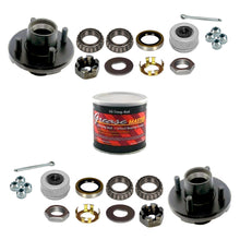 2000 lb Idler Trailer Axle Service Kit - 2k Capacity