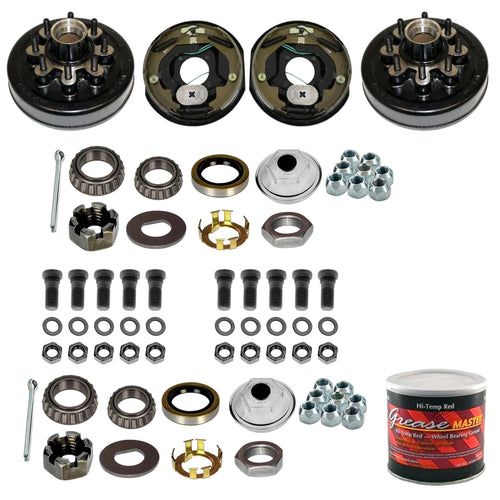 8000 lb Trailer Axle Electric Brake TK Service Kit - 8k Capacity (Lippert Hub and Drum)