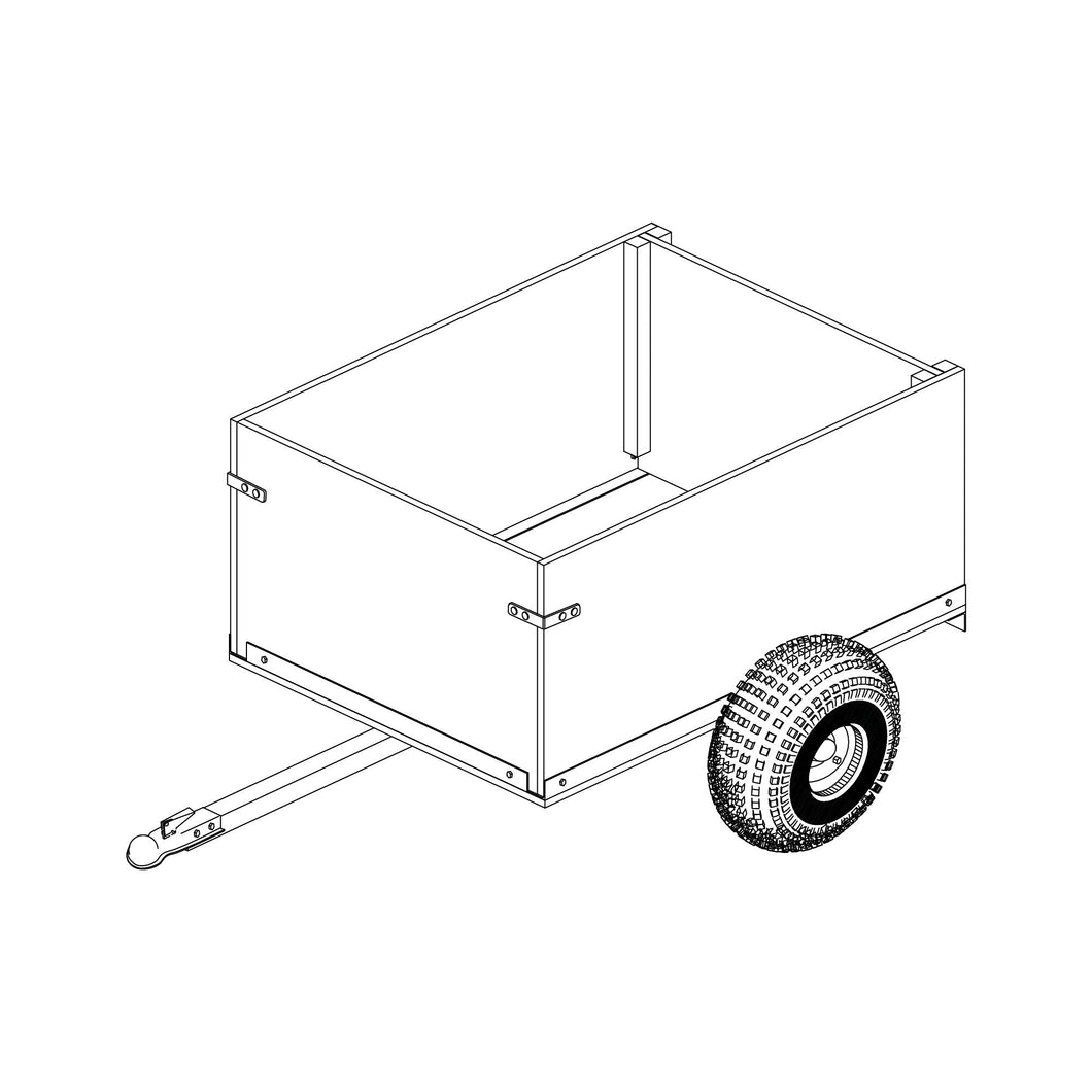 DIY Trailer Plan - 104 - Off Road Utility Cart