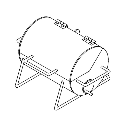 DIY Trailer Plan - 1305 - Pit and Grill Plan