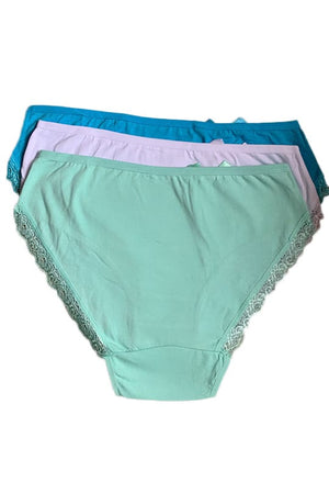 Cotton mid waist brief
