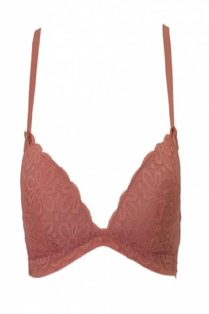 Detachable strap bra