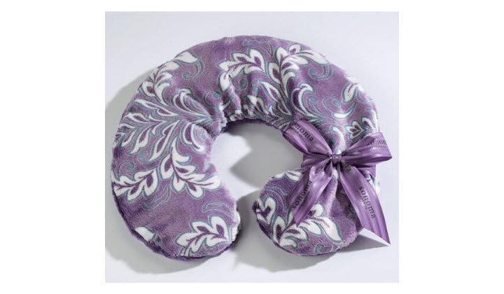Lavender and Eucalyptus Neck Pillows Help to Fight Insomnia