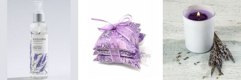 Sonoma-lavender-spray-mist-sachet-trio-in-chrysanthemum-silk-candle-white-votive-lilac2