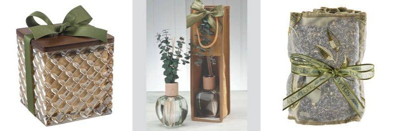 Eucalyptus candle, diffuser and sachets