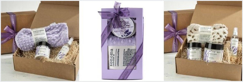 hand and foot pampering spa gift sets to pamper someone special