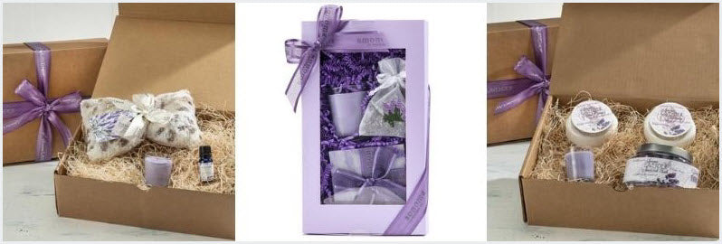 lavender love home spa gift sets to pamper someone special