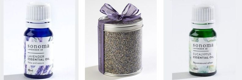 sonoma lavender essential oil aromatherapy dried french lavender and sonoma eucalyptus essential oil