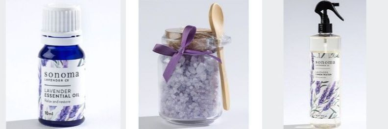sonoma lavender essential oil bath salts linen spray