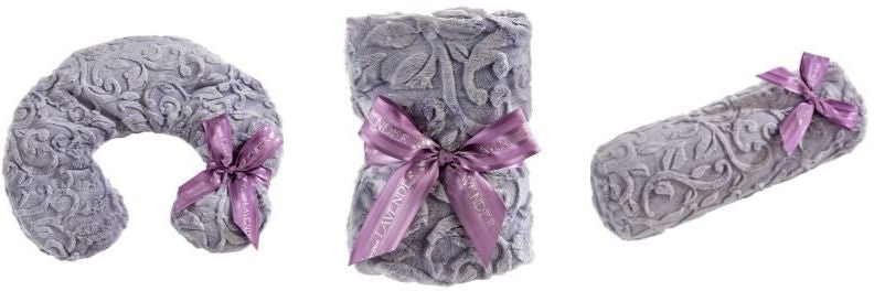 sonoma lavender infused neck wrap blankie and neck pillow