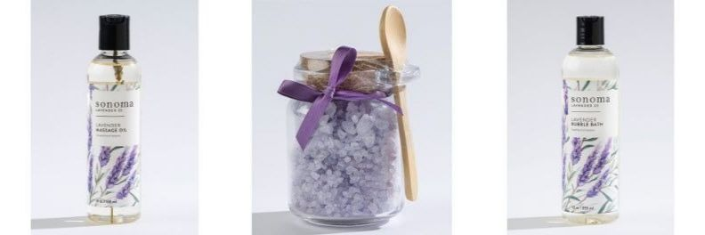 sonoma-lavender-massage-oil-bath-salts-bubble-bath