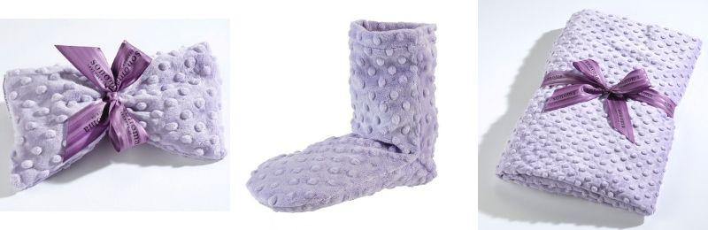 sonoma lavender eye pillow, bootie and blankie
