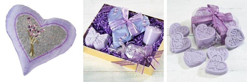 spa birthday gifts for her lavender heart pillow lovers gift set heart soaps