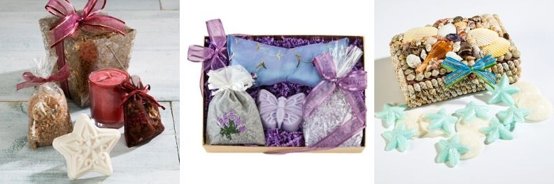 spa birthday gifts for timberlake gift box lavender gift box ocean aire gift box
