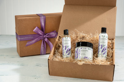 Lavender Body Glow Treatment Kit