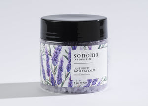 Lavender  Infused Sea Salt Bath - 16oz