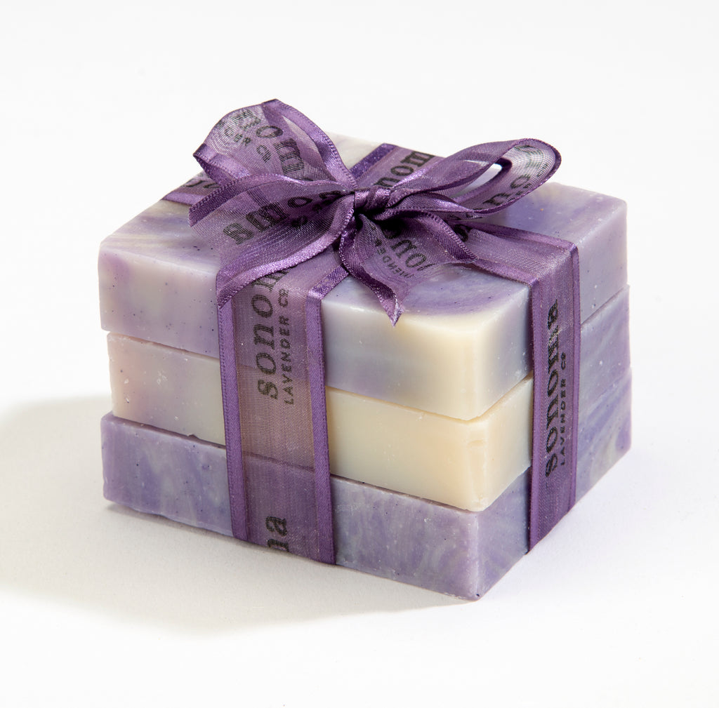 Trio of Lavender & Olive Oil Soap Bars