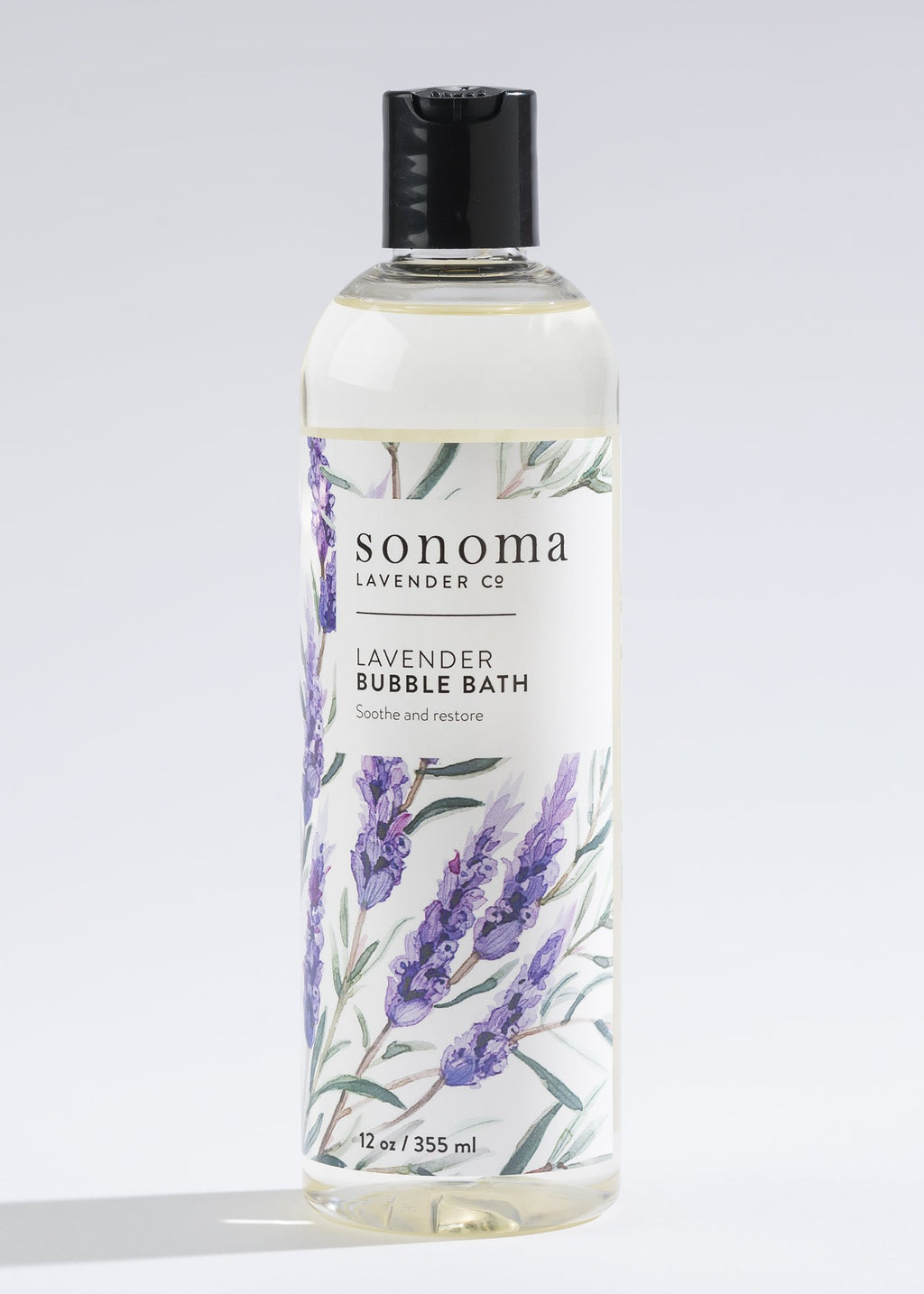 Luxuriously Rich Lavender Bubble Bath
