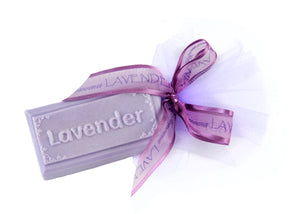 Embossed Lavender Soap Bar