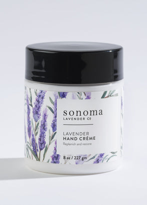 Luxuriously Moisturizing Lavender Hand Creme'