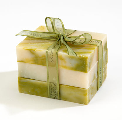 Trio of Eucalyptus & Olive Oil Soap Bars