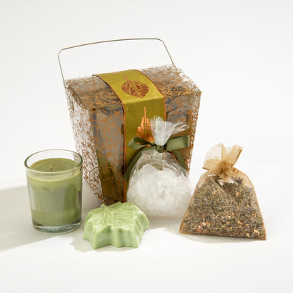 Take-Out Gift Box of 4 Eucalyptus Treats
