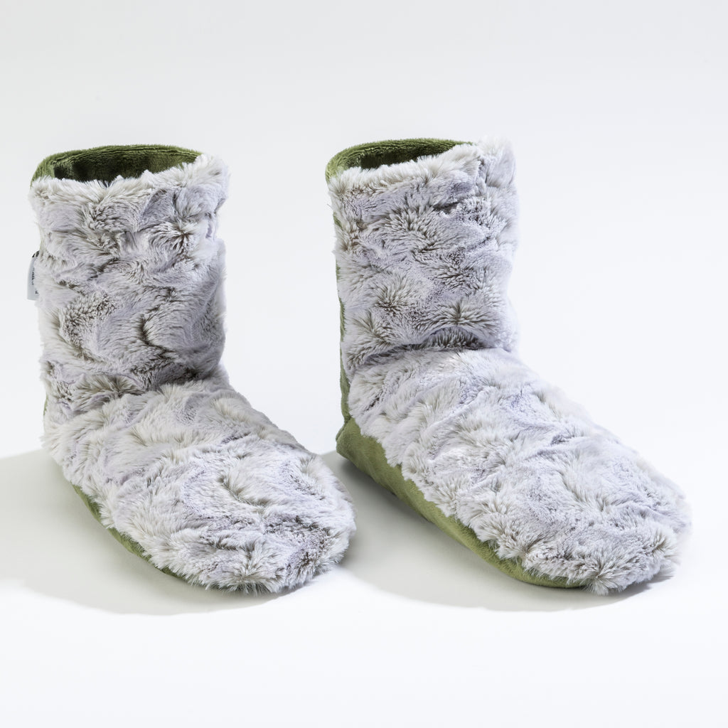 Eucalyptus Frosted Moss Booties