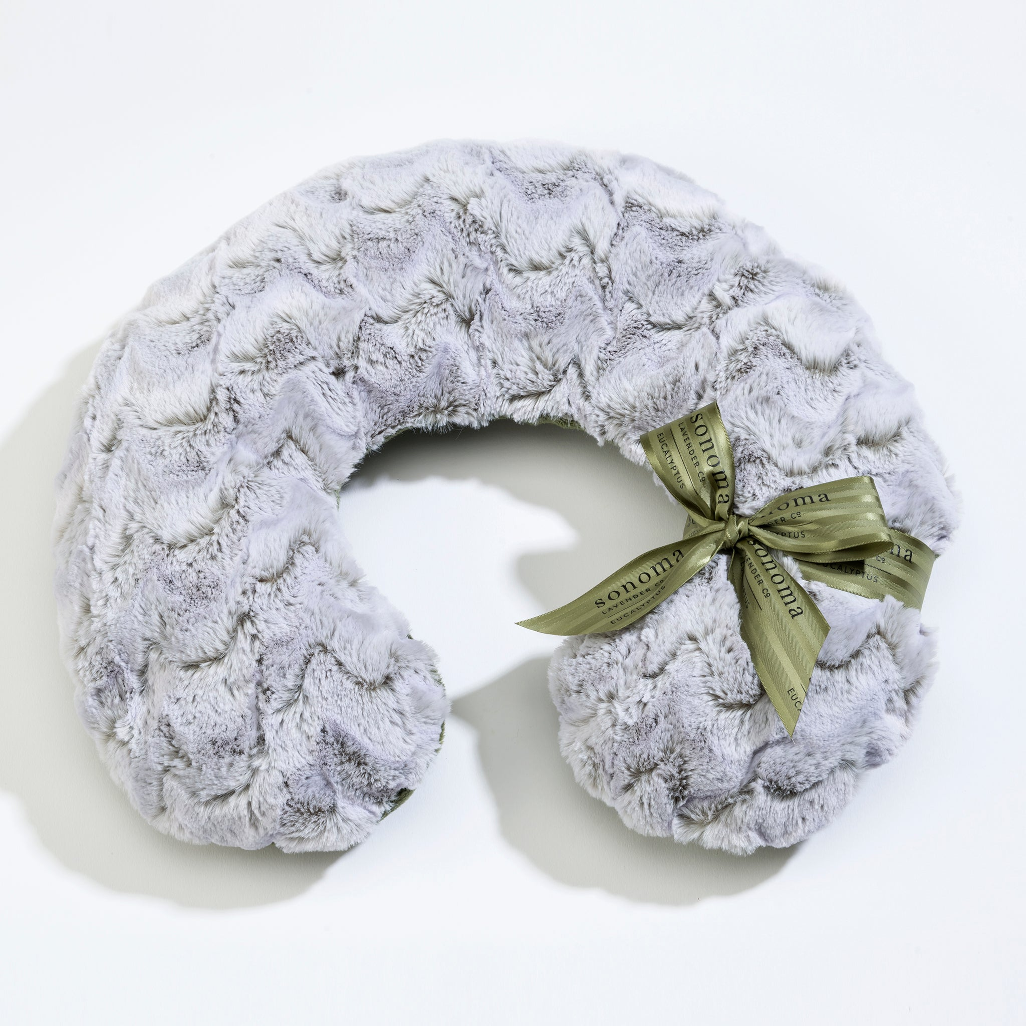 Eucalyptus Frosted Moss Neck Pillow