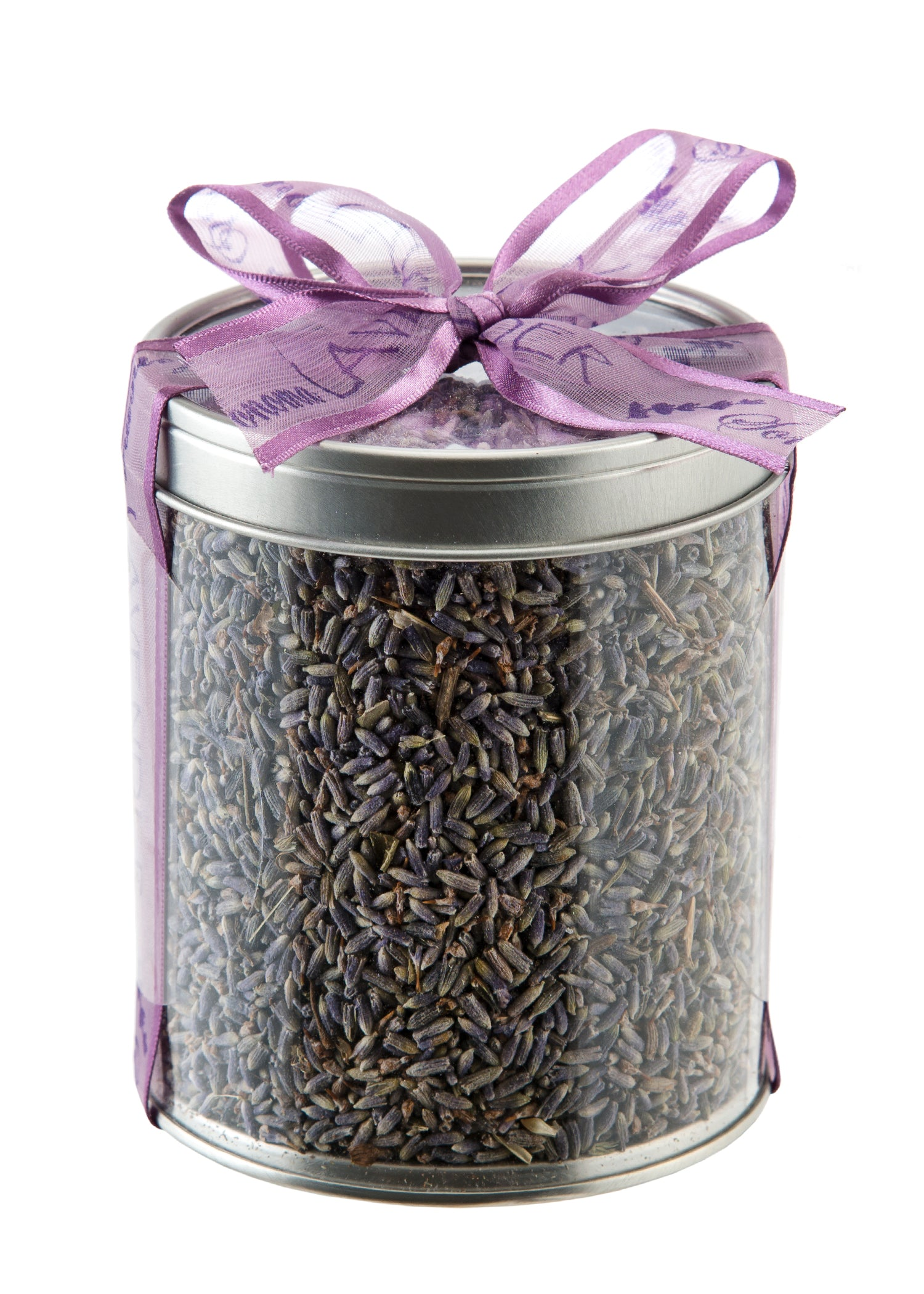 Dried French Lavender in Canister