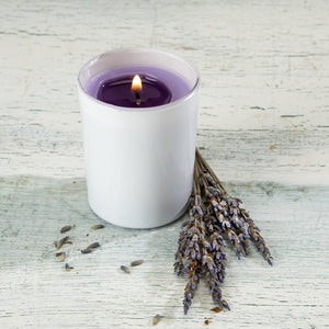 Lavender Scented Soy Votive Candle