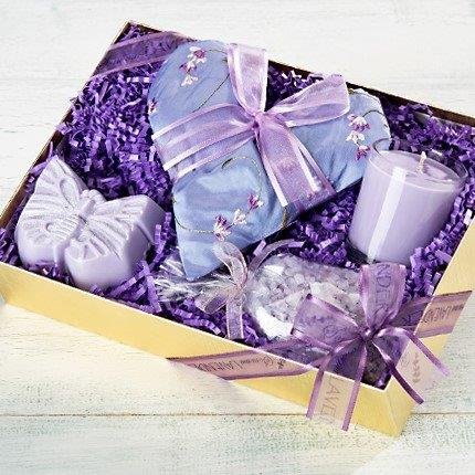 Lovers Lavender Gift Set with 4 items