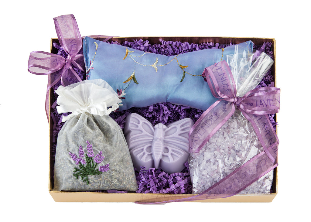 Lavender Sweet Dreams Gift Set with 4 items