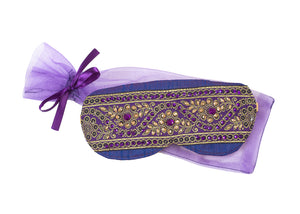 Jeweled Sleep Mask with Lavender