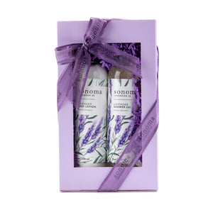 Lavender Shower Gel and Body Lotion Gift Set