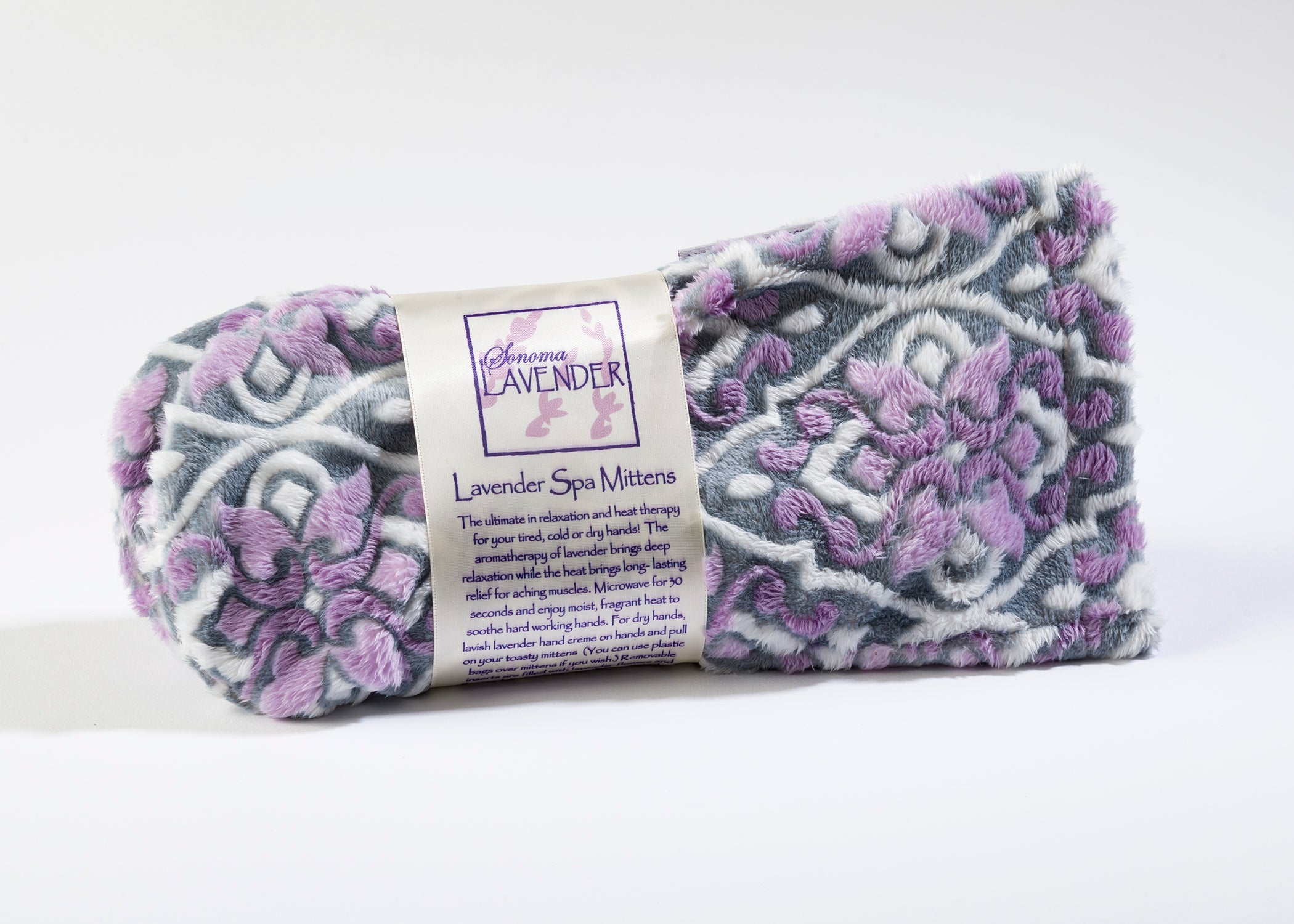 Lavender Scented Spa Mittens In Ibiza