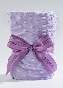 Lavender Spa Heat Wrap in Lilac Dot Fabric