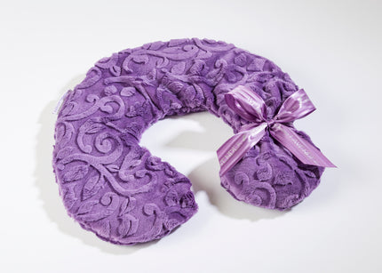Lavender Spa Neck Pillow in Violet Vine