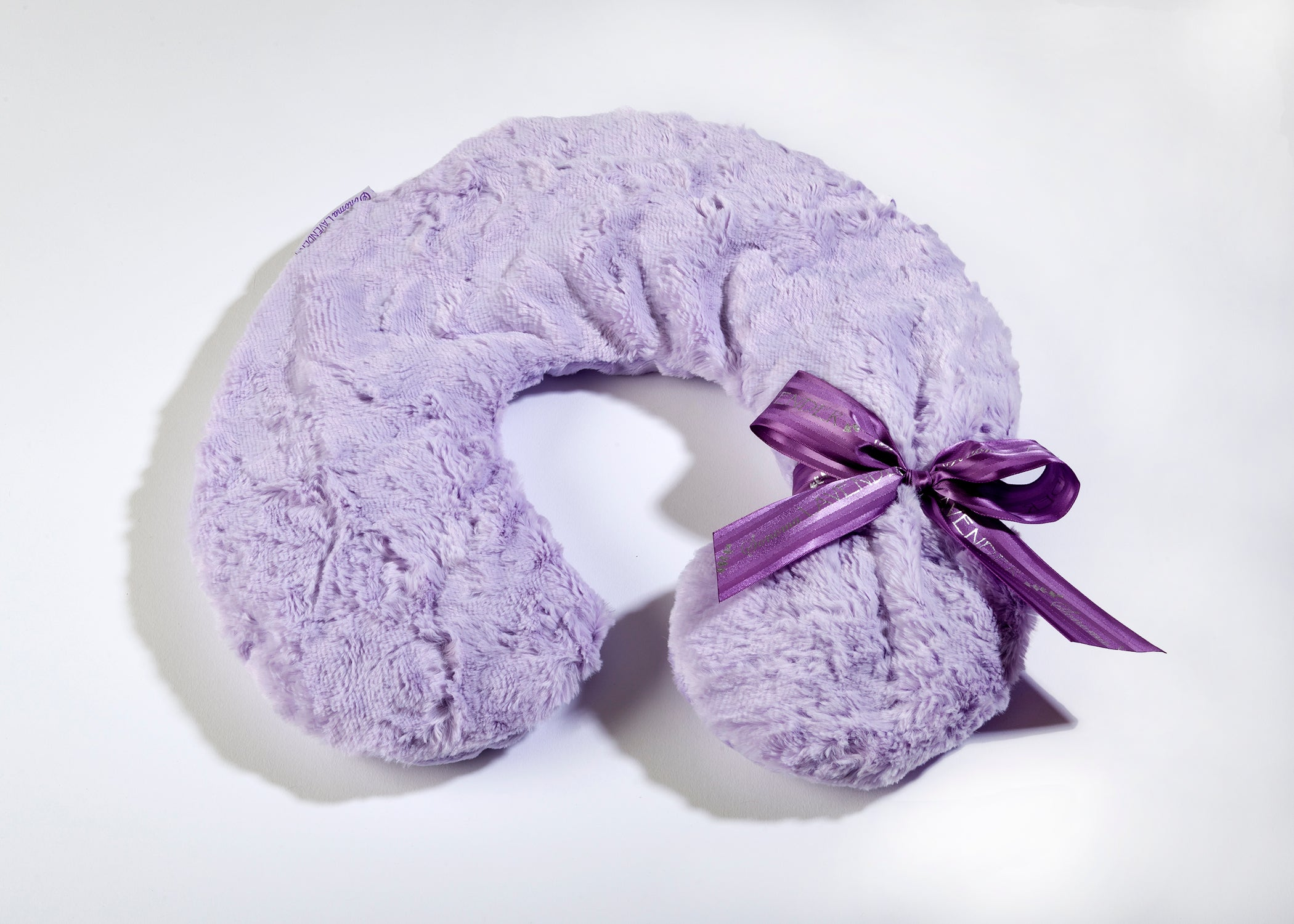 Lavender Spa Neck Pillow in Lavender Luxe