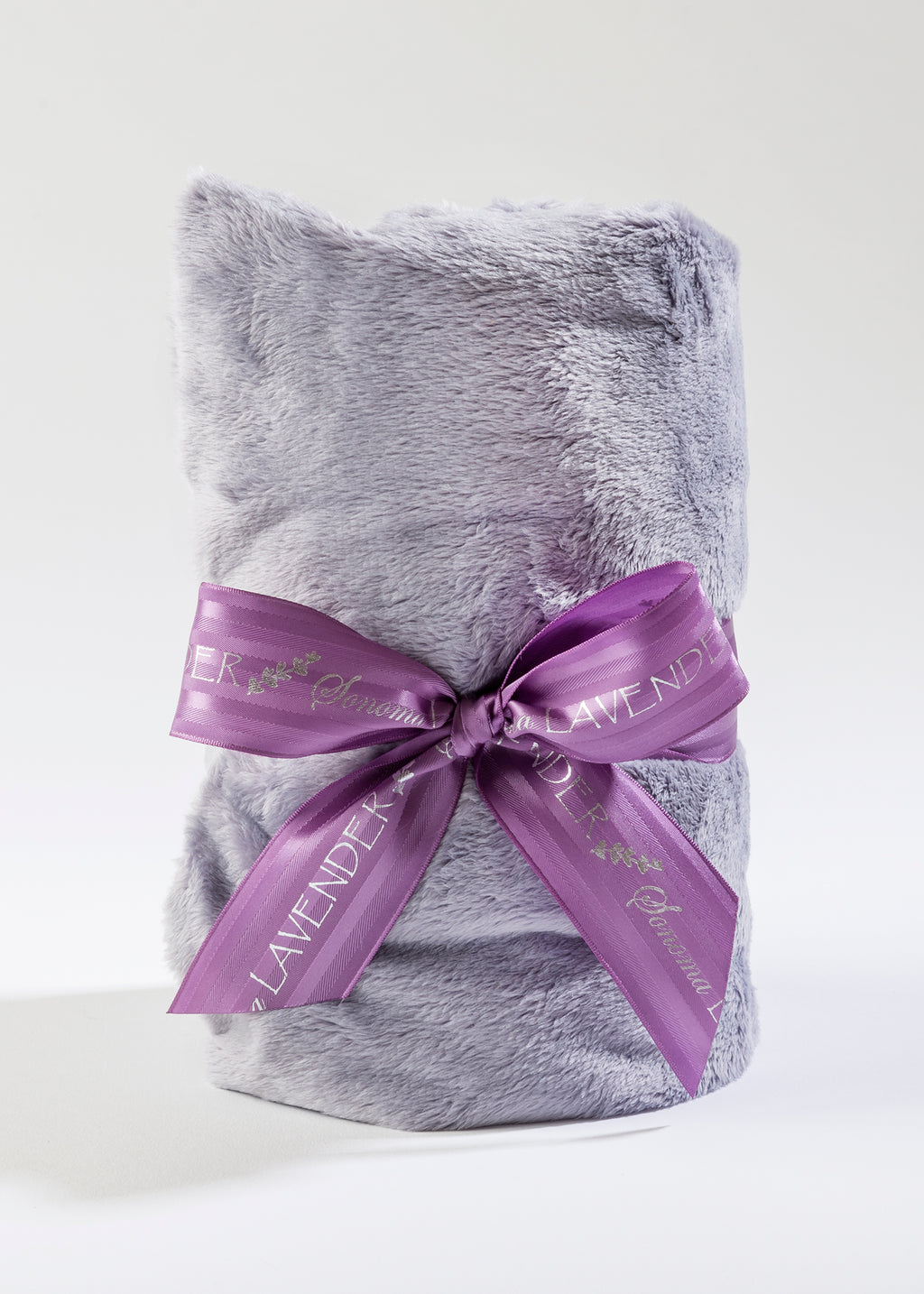 Lavender Spa Heat Wrap in Plush Plata Silver