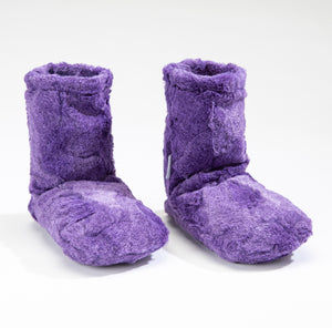 NEW!  Lavender Spa Booties in Amethyst Luxe