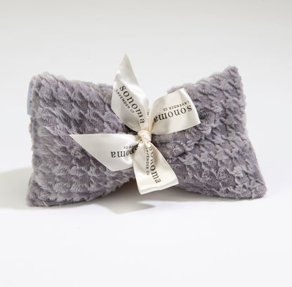 NEW!  Lavender Spa Mask in Silver Houndstooth