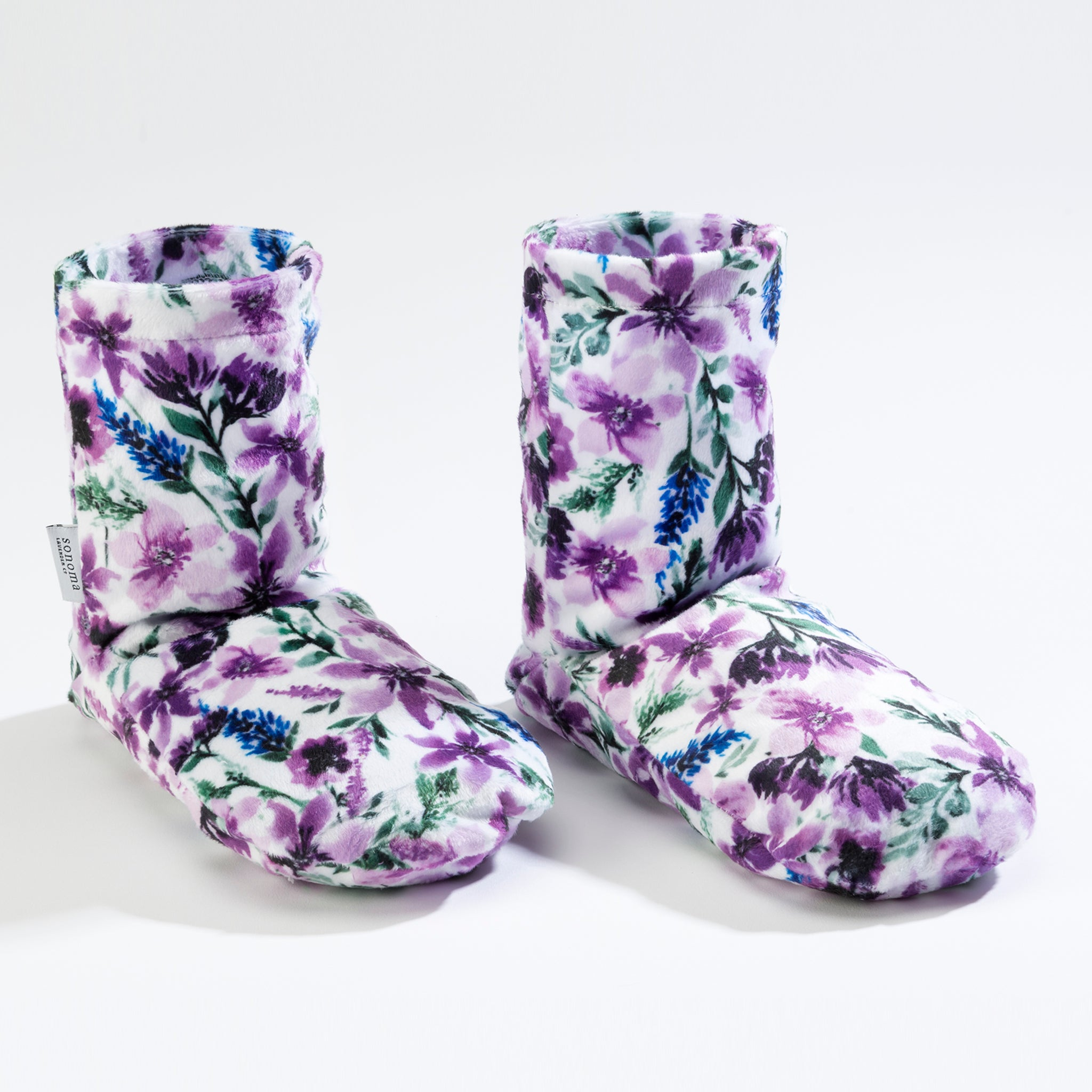 Lavender Wisteria Spa Booties