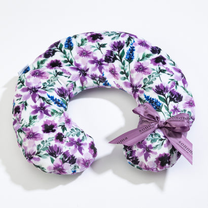 Lavender Wisteria Neck Pillow