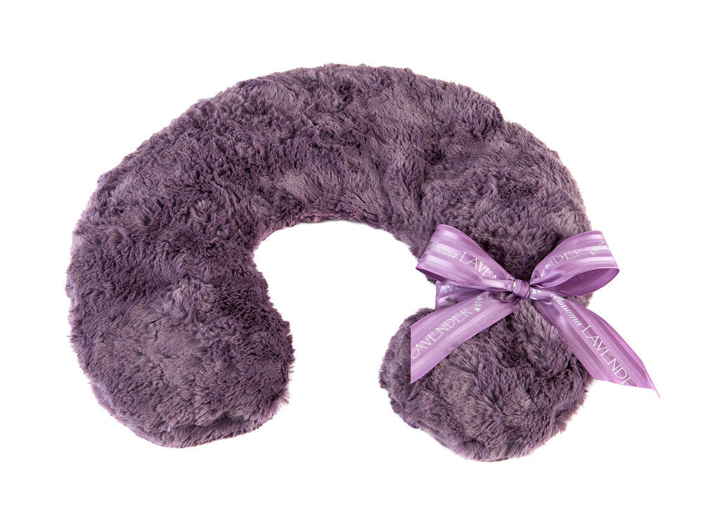 Lavender Spa Neck Pillow in Grapemist Cuddle