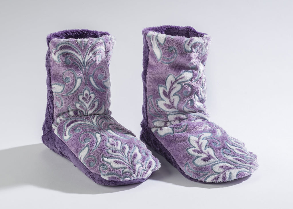 Lavender Spa Booties in Violetta