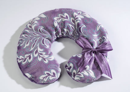 Lavender Spa Neck Pillow in Violetta