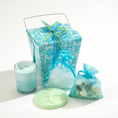 Ocean Aire Take-Out Gift Box with 4 Treasures